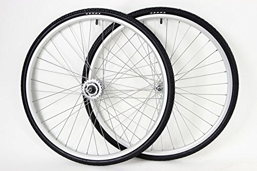 - Windsor 700c Shimano Nexus 3 Speed Hub Hybrid Road Wheels Wheel Set with Shifter and 700c x 32mm Tires
