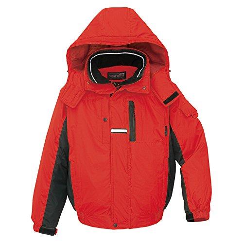 秋冬物 AITOZ アイトス 防寒ブルゾン AZ-6061 009レッド×ブラック L B00AIBZE6Q L|レッド×ブラック レッド×ブラック L
