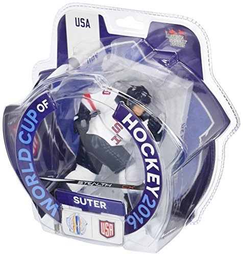 """Ryan Suter Team USA 2016 World Cup of Hockey 6"""" Action Figure Imports Dragon"""