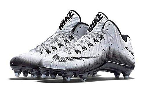 Nike Herren Alpha Pro 2 Fußballschuh Weiß schwarz