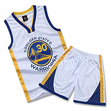 WELETION Warriors Curry Nr. 30 - Camiseta de Baloncesto para niño ...