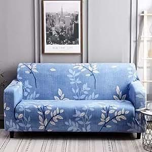 Home Decor,Sofa Cover Four Seater, Leaves Design