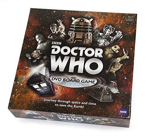 Doctor Who 50th Dvd Board Game