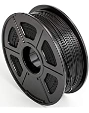 CC DIY PLA 3D Printer Filament Dimensional Accuracy +/- 0.02 mm 1kg Spool 1.75 mm Black
