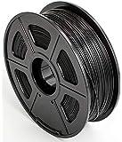 CC DIY PLA 3D Printer Filament Dimensional Accuracy +/- 0.02 mm 1kg Spool 1.75 mm Suits Most 3D Printers Tevo Tarantuala CR10 Mendel Prusa and More, Also Suitable for Most 3D pens (Black)