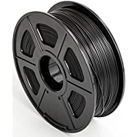 CC DIY PLA 3D Printer Filament Dimensional Accuracy +/- 0.02 mm 1kg Spool 1.75 mm Black