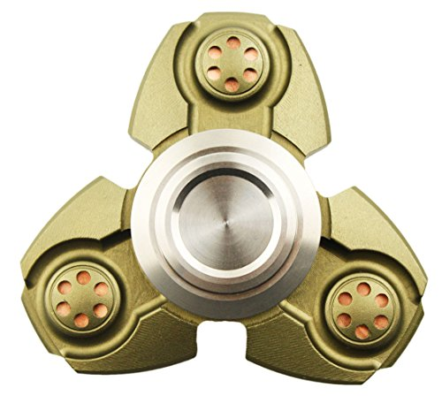 TSAAGAN Novelty Detachable Hand Spinner Fidget Toy 1-5 Min Spins with Ceramic Stainless Steel Hybrid Bearing Spinner Army Green