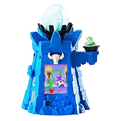 Of Dragons, Fairies, and Wizards Keep Playset and Accessories, Blue: Toys & Games