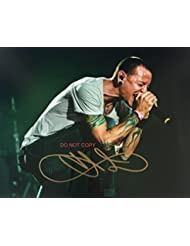 Chester Bennington of Linkin Park reprint signed 11x14 poster photo #8 RP