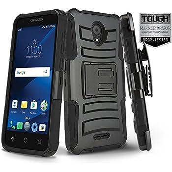 Amazon com: Phone Case for Tracfone Alcatel Raven A574BL, Alcatel