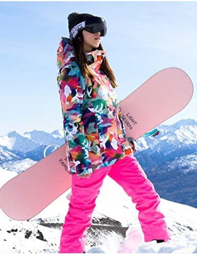GSOU SNOW Womens Ski Suit Snow Suit Women Ski Jackets Snowboard Jacket Ski Coat