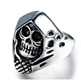 Best Aooaz Friends Unisex Rings - Aooaz Jewelry Band For Men Stainless Steel Evil Review