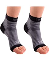 Zensah PF Compression Sleeves (Pair) - Plantar Fasciitis Sleeve, Compression Socks, Arch Support, Plantar Fasciitis Brace - Relieve Heel Pain, Arch Support.