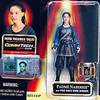 Star Wars, Episode I: The Phantom Menace, Padme Naberrie Action Figure, 3.75 Inches: Toys & Games