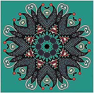 Photo Block Multi Colors Mandala Square Tableau 60 cmx60 cm - 2724806000634