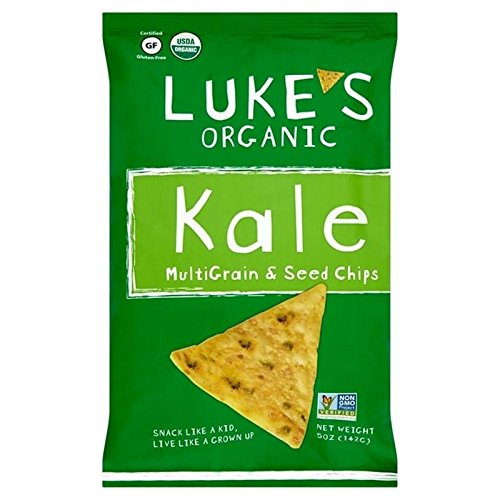 Luke's Organic Gluten Free Kale Multigrain Corn Chips 142g