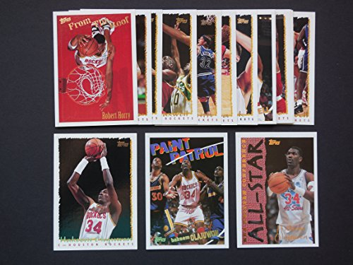 2015 Topps Nba Basketball - Houston Rockets 1994-95 Topps Basketball Team Set (NBA Finals World Champions) Olajuwon, Maxwell, Horry, Smith, Cassell, Thrope, Elie and More