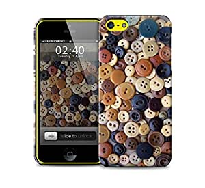 buttons iPhone 5c protective phone case