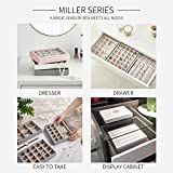 Vlando Miller Jewelry Trays Stackable Showcase