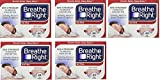 Breathe Right Extra Strong Nasal Strips One Size Fits All, Tan ZwVBqy, 5 Pack(44 Strips)