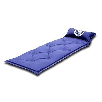 Dooret Colchón Hinchable para Dormir con Almohada Plegable para Acampada, Compatible con Hamaca y Tienda