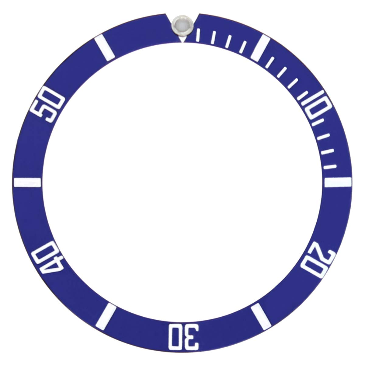 BEZEL INSERT FOR TUDOR HERITAGE BLACK BAY 79230R 79230N 79220 WATCH BLUE by Ewatchparts