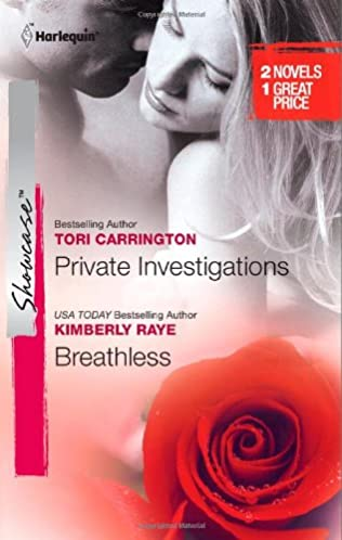 book cover of Private Investigations / Breathless
