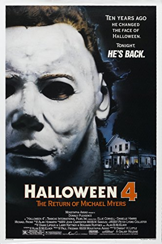 Halloween 4: The Return of Michael Myers (1978) Movie Poster 24x36 (Donald Pleasence Halloween 4)