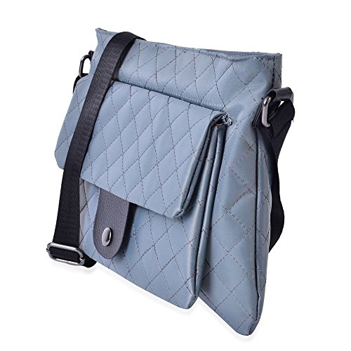 Grey Diamond 5 Adjustable Crossbody 28x21 Strap Bag Shoulder Pattern TJC Cm PqOZwfx