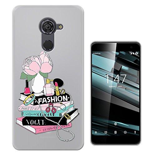 C0177 - Fashion Magazine Perfume Lipstick Nail Varnish Design Vodafone Smart Platinum 7 (5.5