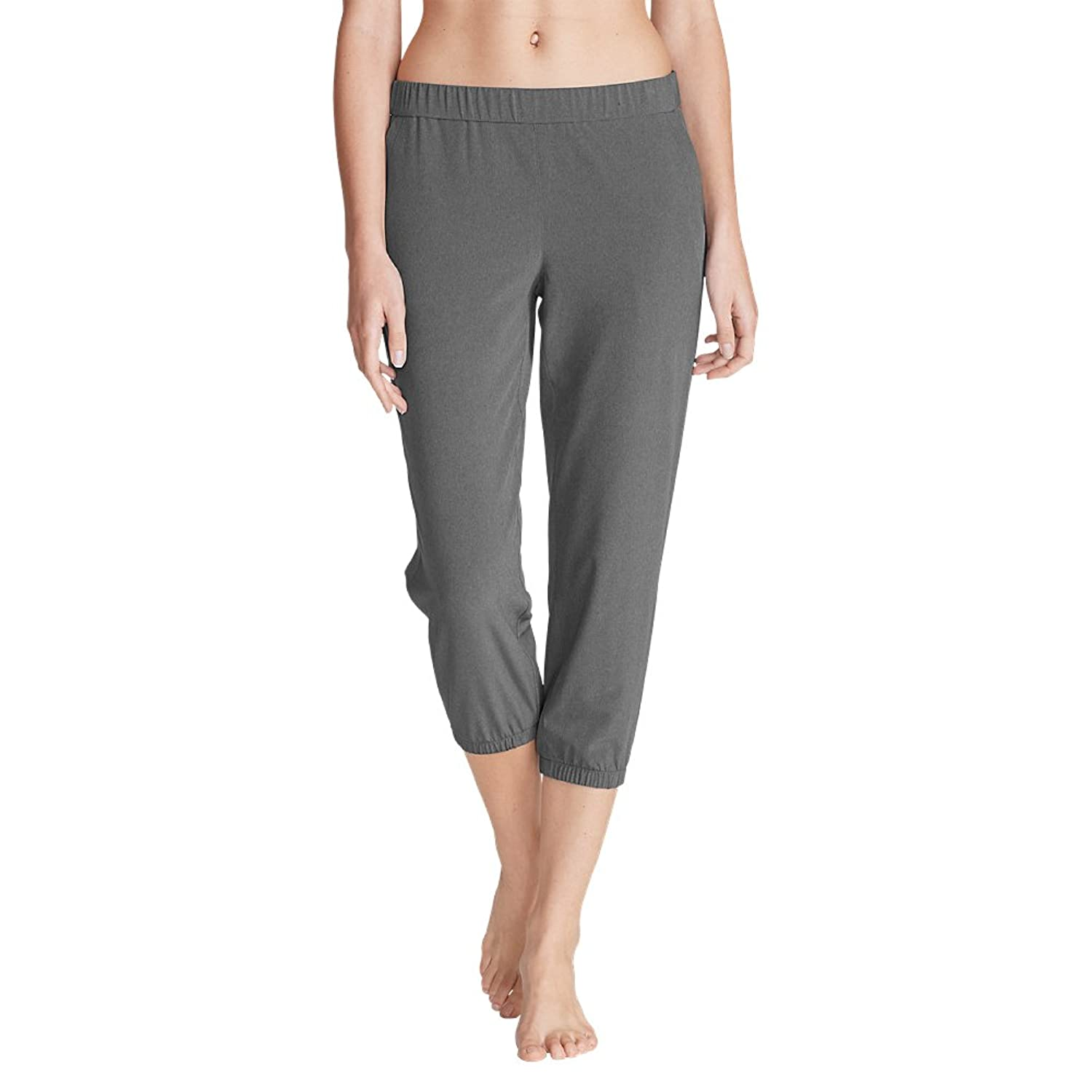Eddie Bauer Women's Myriad Crop Pants - Solid Heather