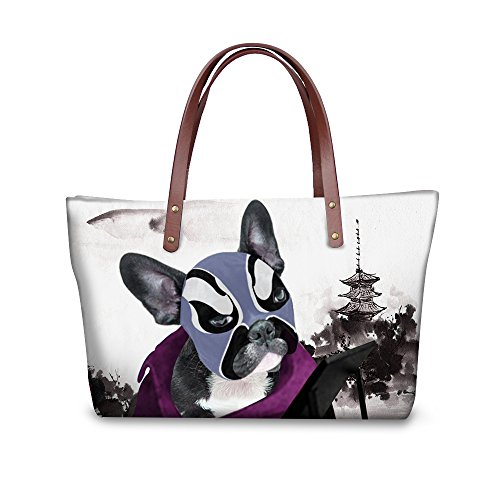 Bages FancyPrint Top Vintage Tote Handle Handbags Women W8ccc1737al Satchel HqP7EAwqx