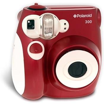 Amazon.com : Polaroid 300 Instant Camera (Red) : Instant Film ...
