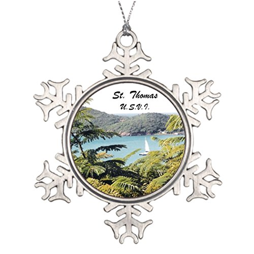 Ideas For Decorating Christmas Trees St. Thomas U.S.V.I. Christmas Snowflake Ornaments Vacation