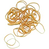 Ship Now Supply SNBAN406 Rubber Bands, 1/8'' x 2'', 10 Lbs., 0.125'' width, 2'' Length, Brown (Pack of 11000)