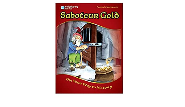 Saboteur Gold - A Unique Ltd Edition Board Game Featuring Both ...