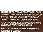 Equal Exchange Organic Very Dark Chocolate, 2.8 Ounce, Pack of 6 11 Contains 6 packs of 2.8 oz Very Dark Chocolate TASTE: Rich Dark Chocolate Bar Very Dark 71% Cacao.  Vegan, Soy & Gluten Free Crafted Soy & Gluten Free
