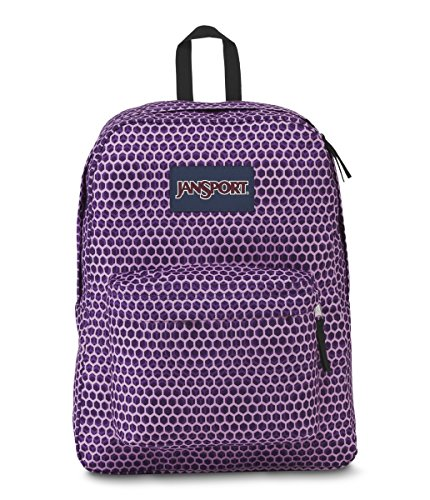 JanSport Superbreak Backpack- Sale Colors (Urban Optical Purple) by JanSport