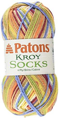 Patons Kroy Socks Yarn, Sporty Stripes