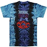 Rush - Pentagram Tie Dye T-Shirt