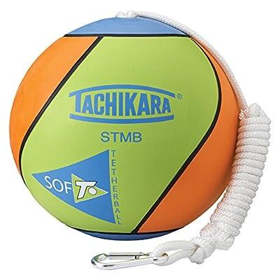 TACHIKARA STMB Extra Soft Tetherball (Gold/Royal/Scarlet). : Tetherball Equipment : Sports & Outdoors