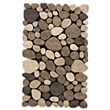 nuLOOM 5′ x 8′ Hand Tufted Pebbles Rug in Natural