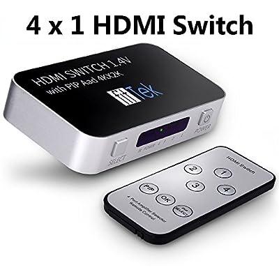 fitTek Hdmi Switch Splitter fitTek Selector Switch Box