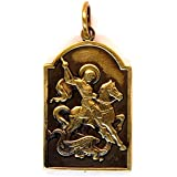 Pendant : Saint George the Victorious : Necklace / Keychain