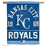 Kansas City Royals Vertical Flag: 27x37 Banner
