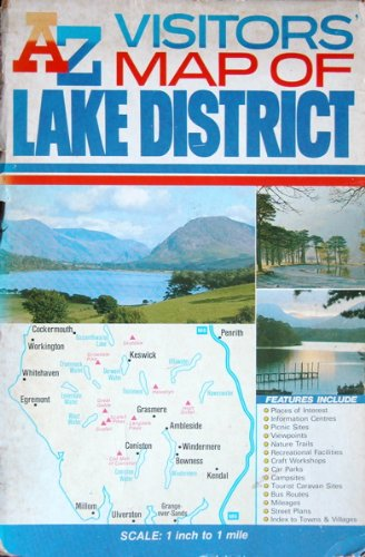 A. to Z. Visitors' Map of the Lake District