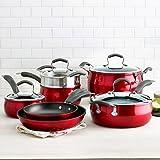 cooks essentials pots and pans - Epicurious 11-pc. Aluminum Nonstick Cookware Set