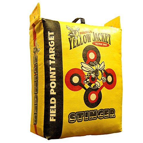 Morrell Yellow Jacket Stinger Field Point Bag Archery Target  - Great for Compound and Traditional Bows by Morrell (Image #1)