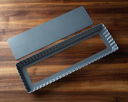 Fox Run 44512 Rectangular Loose Bottom Tart/Quiche Pan, Preferred Non-Stick, 14-Inch by Fox Run (Image #6)
