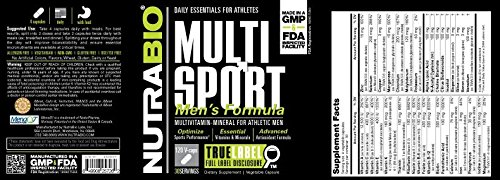 Review NutraBio MultiSport Vitamin for